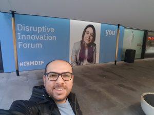 247 Labs CTO Azwar Khalid attending Toronto Disruptive Innovation Forum 2017