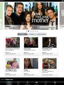 App developers Toronto built this app to stream your favorite CityTV shows.