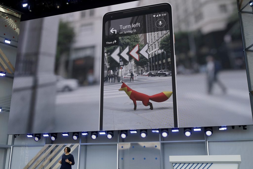 A new Google Maps feature that brings some of Google AR 2018 innovations