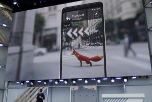 Google Maps AR header image