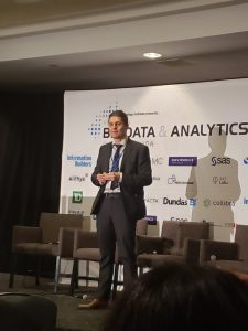 Big Data & Analytics Summit speaker, Thomas Kampioni
