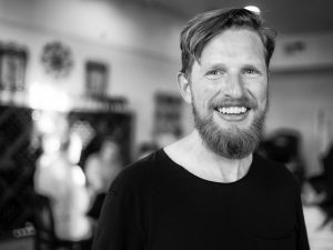 This is a picture of Matt Mullenweg who is the founder of WordPress
