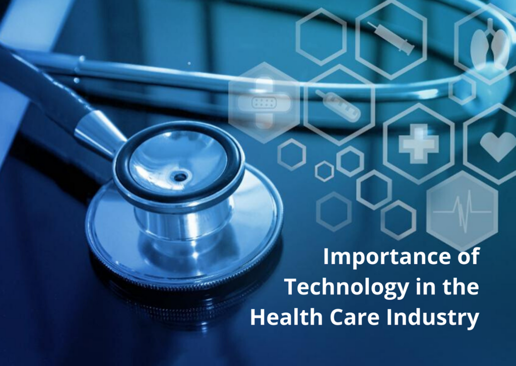 Technology With A Perfect Blend To Health Industry